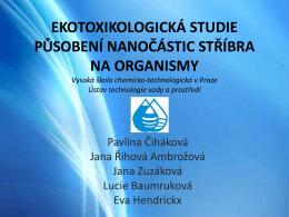 Ing. Pavlína Čiháková