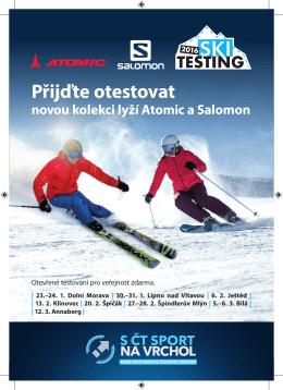 Přijďte otestovat - Skiareál Špindlerův Mlýn