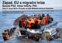 Západ, EU a migrační krize