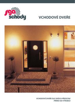 vchodové dveře - SGA