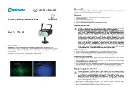 Překlad - 1276168 - Laserový efekt Renkforce