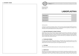 labioplastika - Fakultní nemocnice Hradec Králové