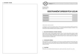 odstranění spádových uzlin - Fakultní nemocnice Hradec Králové