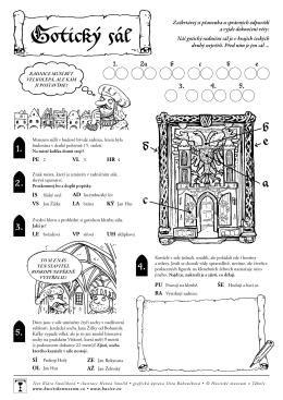 Gotický sál - Husitské muzeum v Táboře