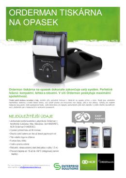 Mobilní tiskárna  - Enterprise Solutions