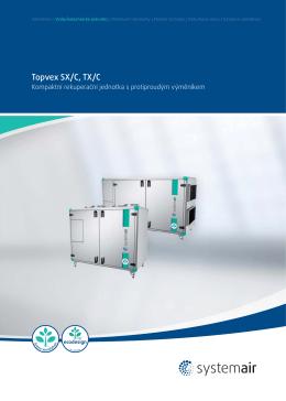Topvex SX/C, TX/C