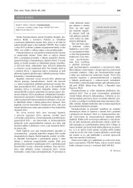 3. recenze - Vydavatelství VŠCHT Praha