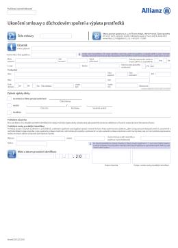 Výplata prostředků z DS PDF soubor