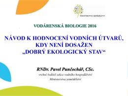 RNDr. Pavel Punčochář, CSc.