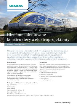 Leták - Siemens