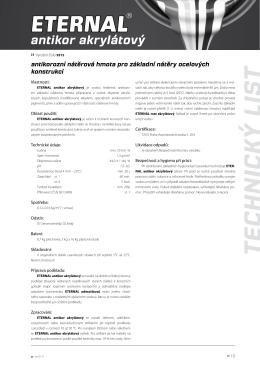 ETERNAL antikor akrylátový