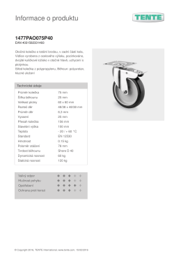 Informace o produktu 1477PAO075P40