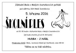 5. března 2016 - Malé Svatoňovice