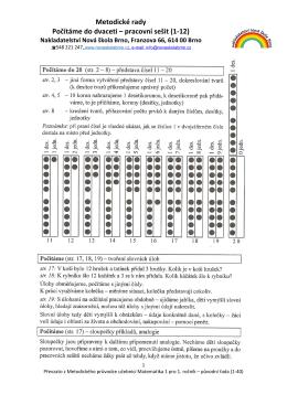 1-12 Počítáme do 20 - Nakladatelství Nová škola Brno