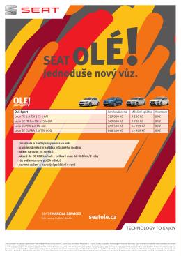 Stáhněte si přehlednou nabídku všech modelů SEAT