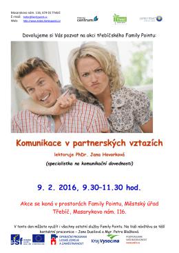 Komunikace v partnerských vztazích