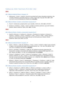 databáze OBD 3. LF UK