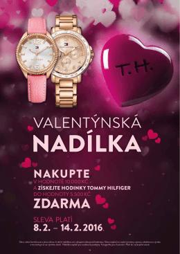 Valentýnská nadílka