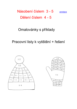EU-2-9 Násobení a dělení 3