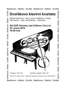 Dvořákovo klavírní kvarteto