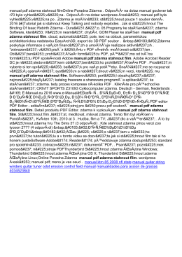 manual pdf zdarma stahnout film