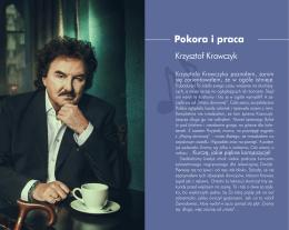 Pokora i praca - Krzysztof Krawczyk