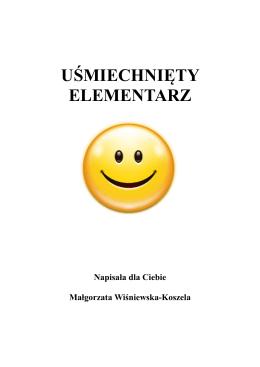 Y - uśmiechnięty elementarz