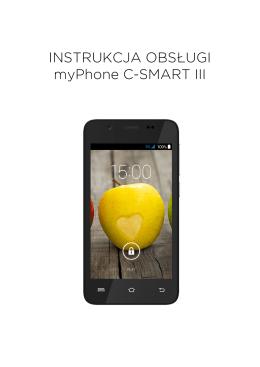 INSTRUKCJA OBSŁUGI myPhone C