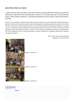 bezpiecznie w sieci - Policja Kujawsko
