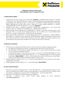 Tańsze raty - Raiffeisen Bank Polska