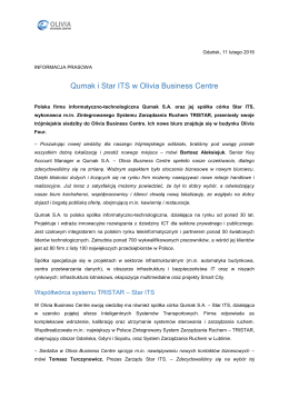 Qumak i Star ITS w Olivia Business Centre
