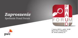 Spotkanie Fraud Forum