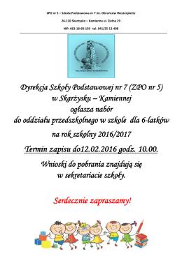 szczegóły - Szkoła Podstawowa nr 7 w Zespole Placówek