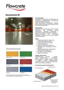 Deckshield ID - Flowcrete Polska