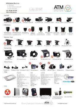 Pobierz katalog sprzętu filmowego