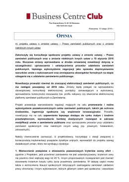opinia - Business Centre Club