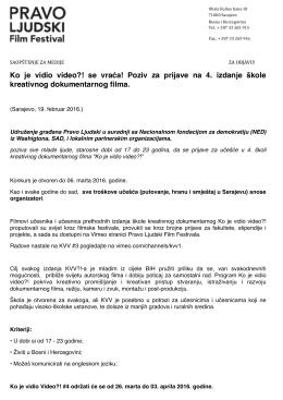 Saopstenje_PravoLjudski_PozivKVV4_160219