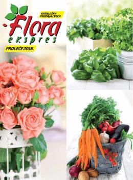 proleće 2016. - Floraekspres