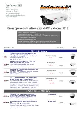 ProfesionalBN IP CCTV 2016