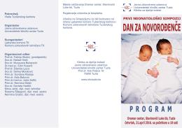 Program  - Univerzitetski klinički centar Tuzla