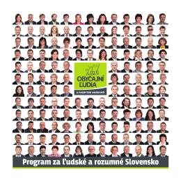 Program za ľudské a rozumné Slovensko
