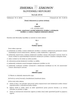 Elektronická zbierka zákonov