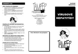 vírusové hepatitídy