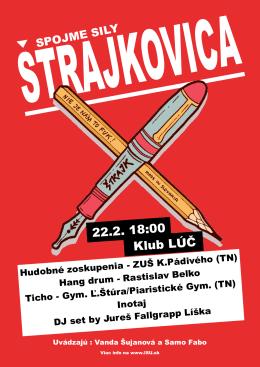 22.2. 18:00 Klub LÚČ