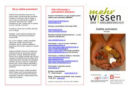 Zaštita potrošača - Konsumentenfragen.at