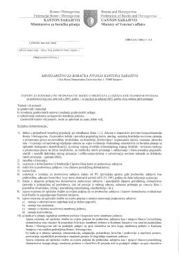 izjavu - Ministarstvo za boračka pitanja