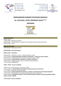 Program - MDC-a