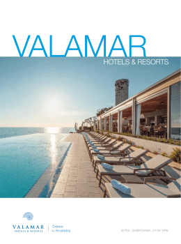 Brošura - Valamar Hotels & Resorts