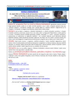 Pozivnica - Agencija za odgoj i obrazovanje