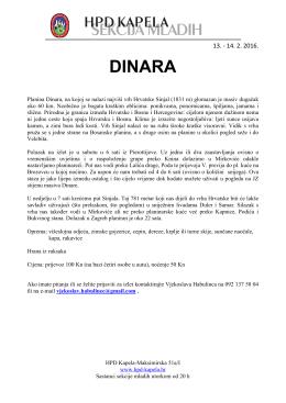dinara - HPD Kapela